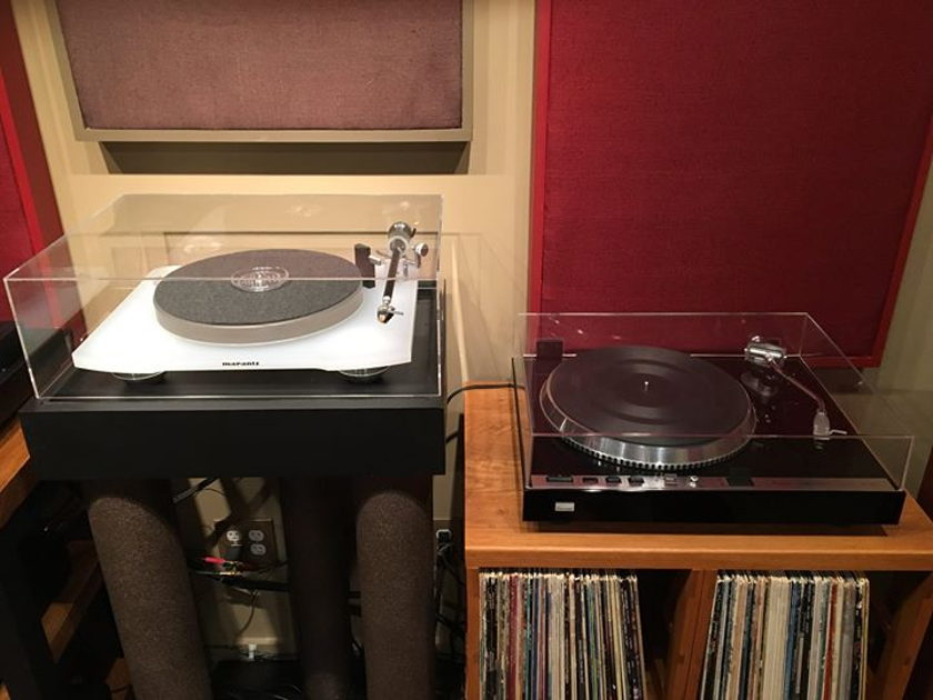 Marantz TT-15S1 with Acrylic Cover and Q-Up - No Cartridge