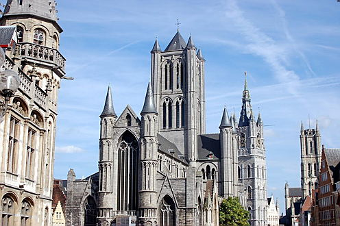 Brussels - Saint Bavo's Cathedral