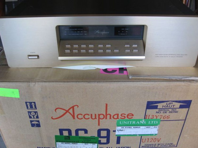 Accuphase DC-91 Precision CD Player