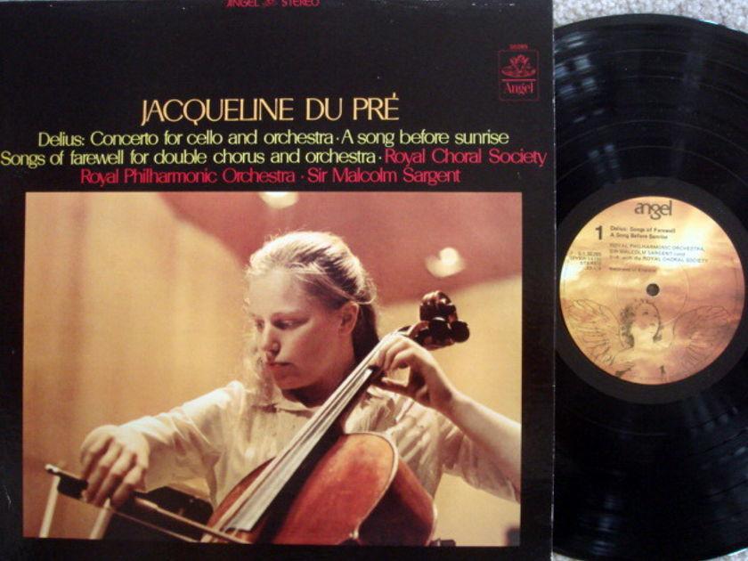 EMI Angel / DU PRE-SARGENT, - Delius Cello Concerto, NM!
