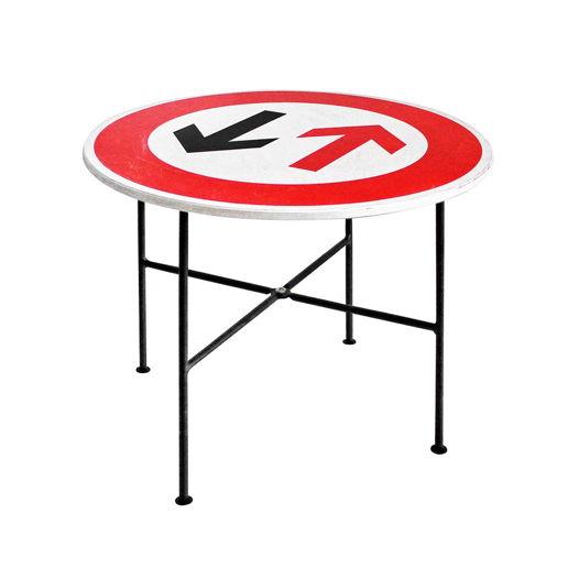 ЛОФТ Журнальный столик с принтом