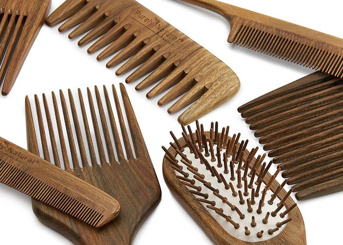Sandalwood Hair Tools from Purely Natural by Anastasia