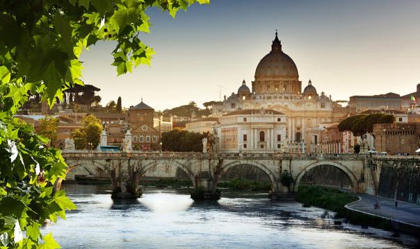 Утренний тур по району Ватикана и Замка Святого Ангела в мини-группе