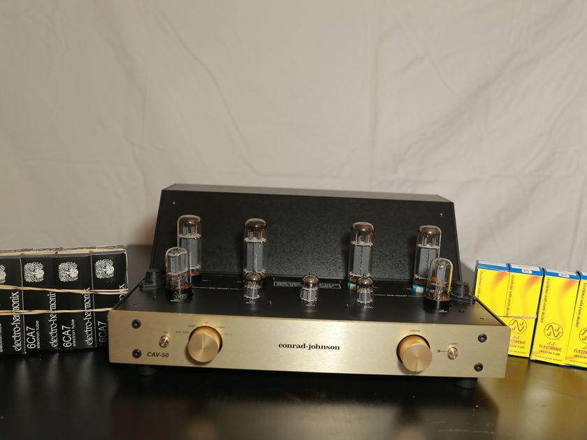 CONRAD JOHNSON CAV-50 Integrated Amplifier