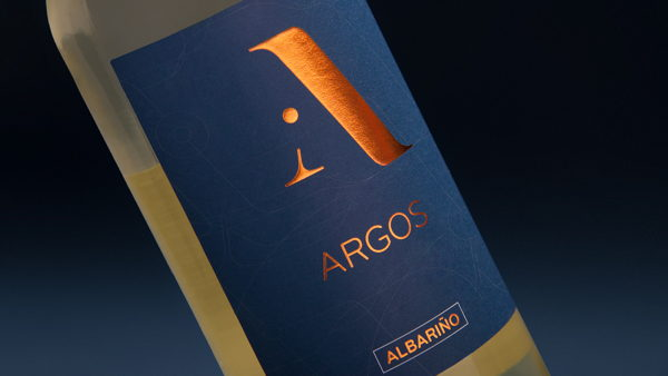 Design of wine labels for Argos