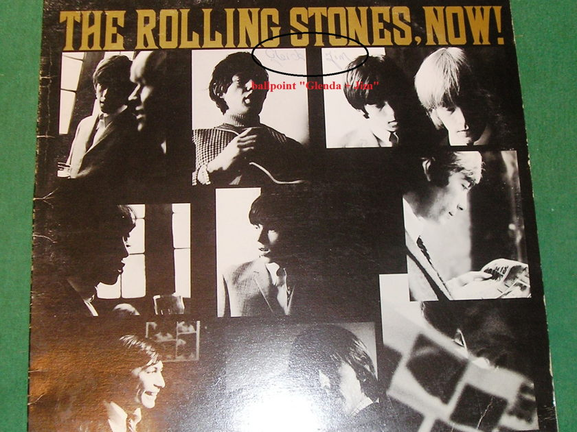 "ROLLING STONES - NOW! -  - LONDON PS-420  CANADA ""SUNRISE LABEL"" **IMPORT NM 9/10**"