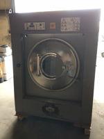 Milnor 110lb washer, soft mount