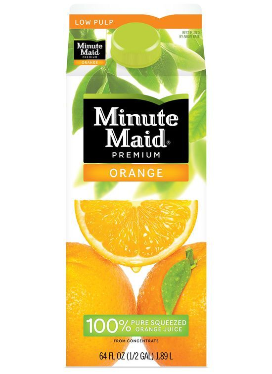 Minute Maid Orange Juice 64oz