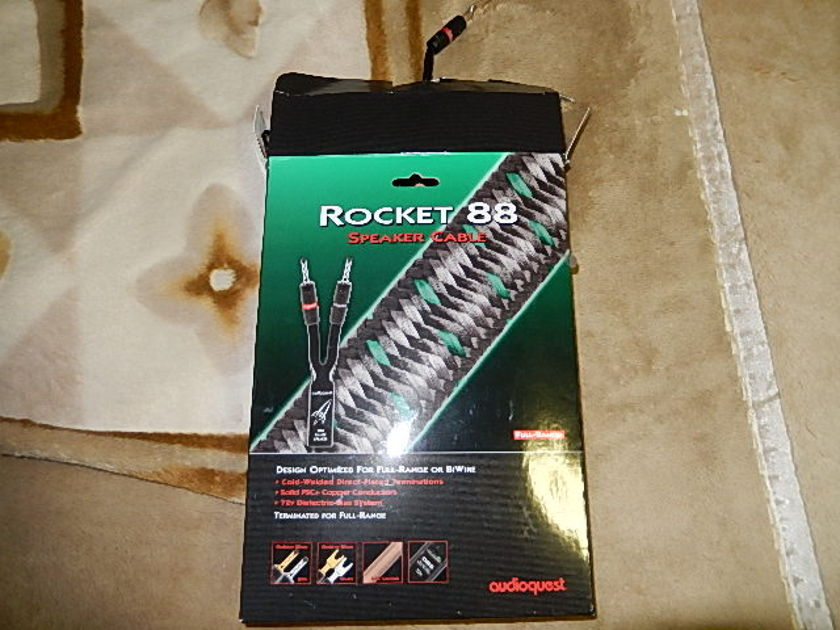 Audioquest Rocket 88 with 72V DBS Speaker Cables - Pair
