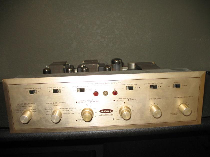 HH Scott 299 tube integrated