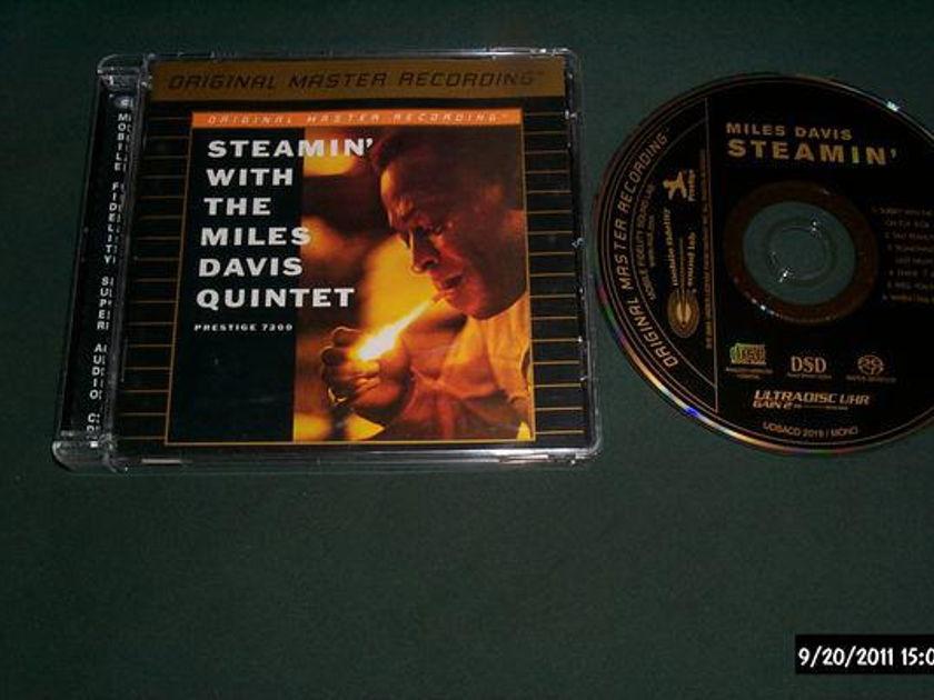 Miles Davis Quintet - Steamin' mfsl sacd hybrid nm