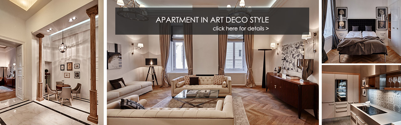 Budapest - Apartment in Art Deco Style
