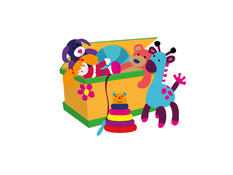 Member Created Basket of Joy for Kids