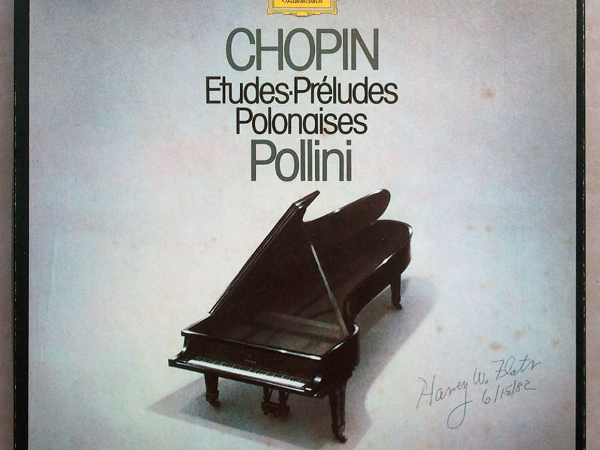 DG   POLLINI/CHOPIN - Etudes, Preludes, Polonaises / 3-LP / NM