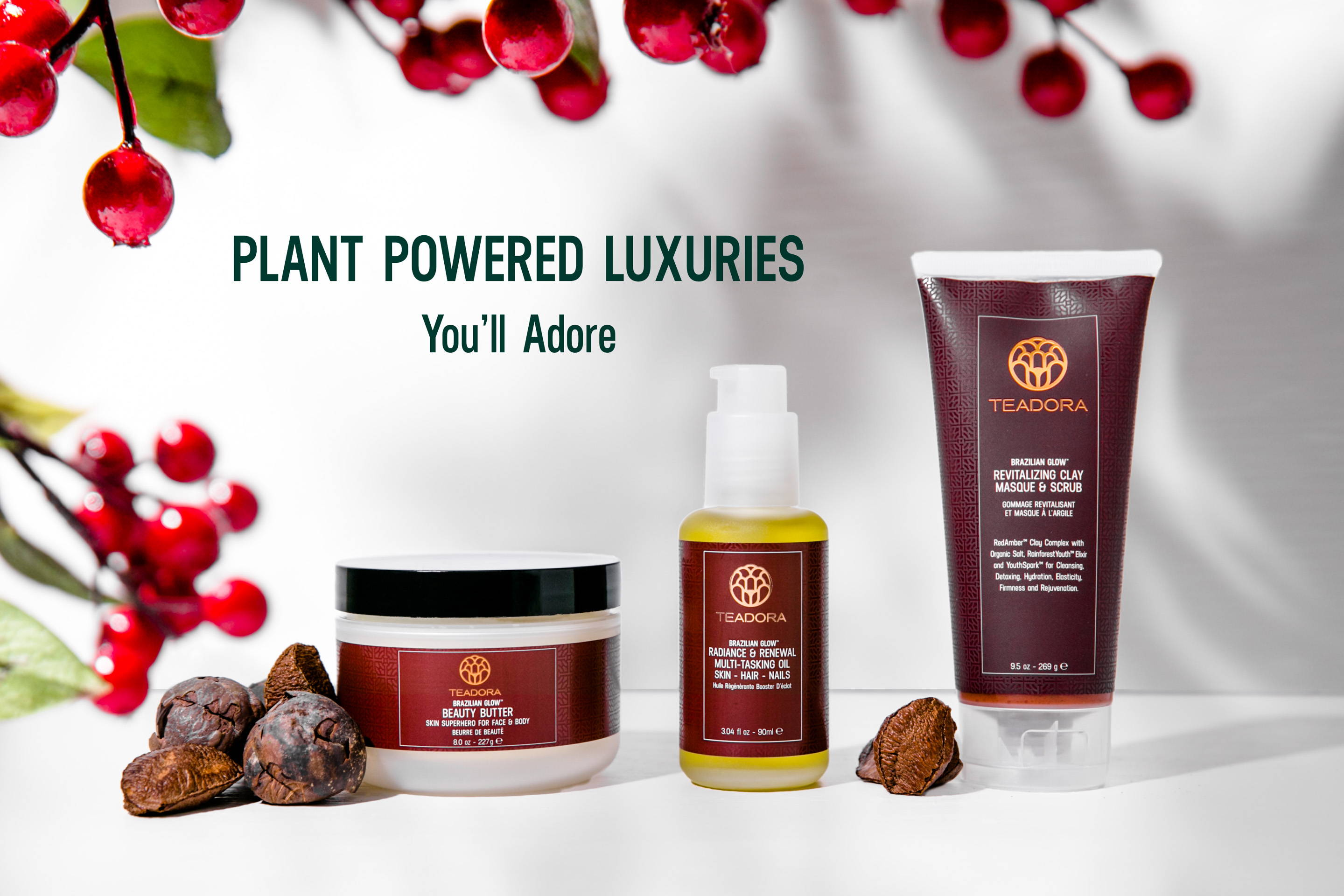 plant powered beauty products