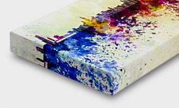 Canvas giclee