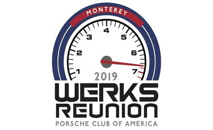 Porsche Club of America - Werks Reunion Monterey info on Aug