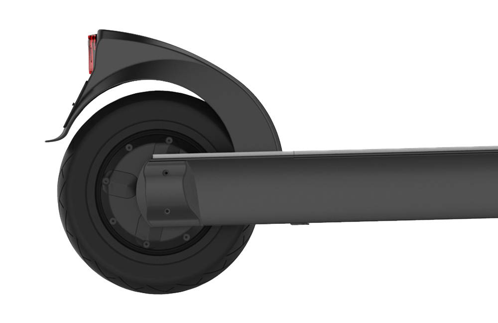 Okai-electric-scooter-sharing-es400-scooter-motor-sideview-mobile