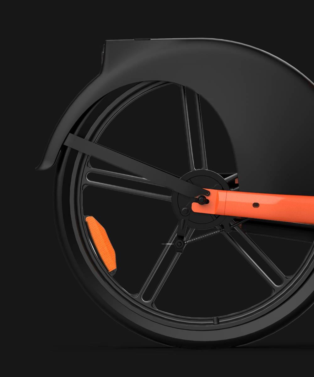 Okai Micromobility Manufacturer, EB100 Electric Bike Hub Motor