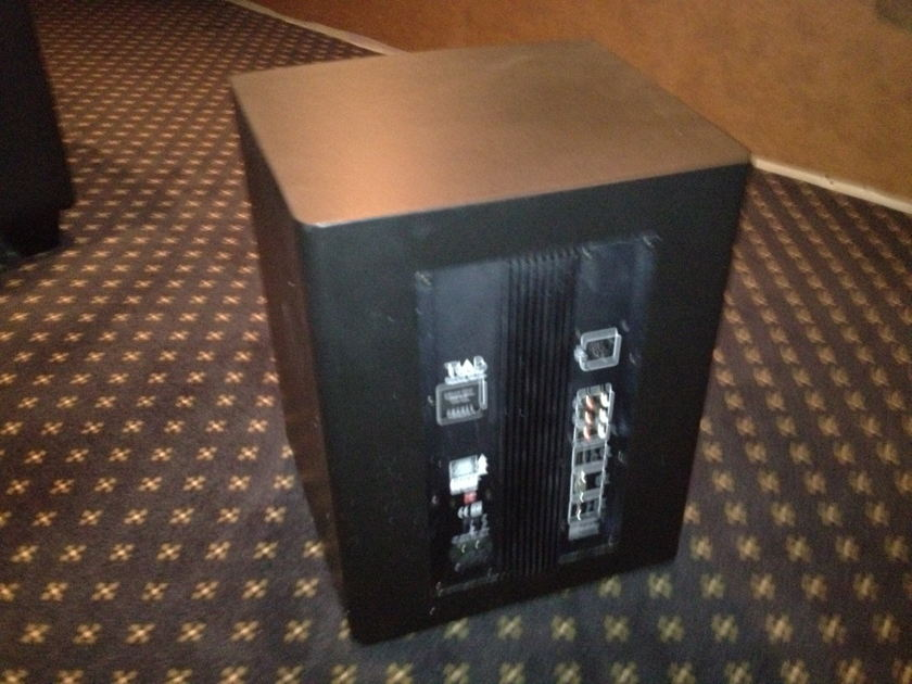 Triad Silver DSP Subwoofer 12 Inch Black Finish Mint Condition