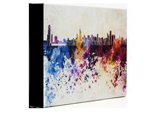 Color canvas wrap