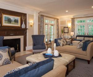Formal Living Room, Cornell University