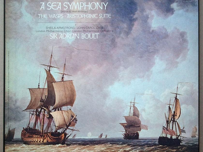 ANGEL Blue | BOULT/VAUGHAN WILLIAMS - A Sea Symphony / 2-LP / EX
