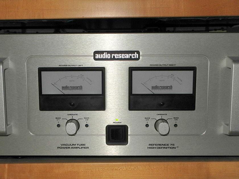 Audio Research REF 75 silver 75w/ch tube amp