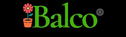 Flowerpot holder-iron-planter-support for balcony-balco-logo