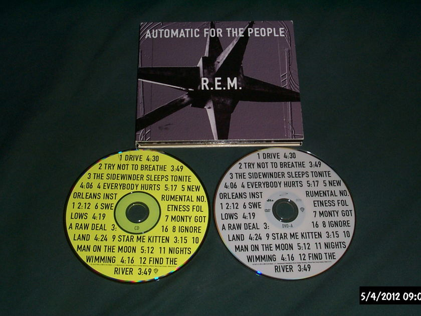 R.E.M. - Automatic For The People DVD Audio