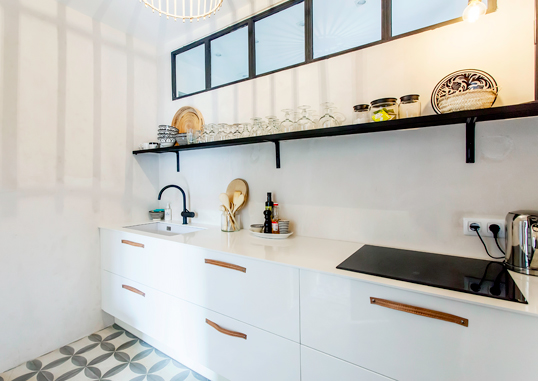 Barcelona - The challenge of a small kitchen