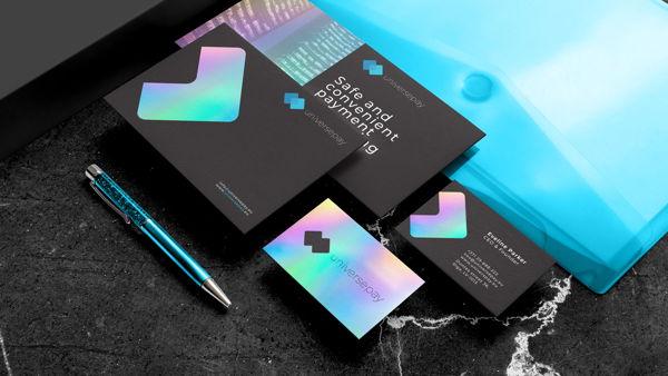 UniversePay – fintech services branding