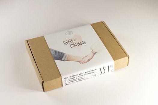 микс 35.14 ДОЛГО и СЧАСТЛИВО - набор конфет ручной работы