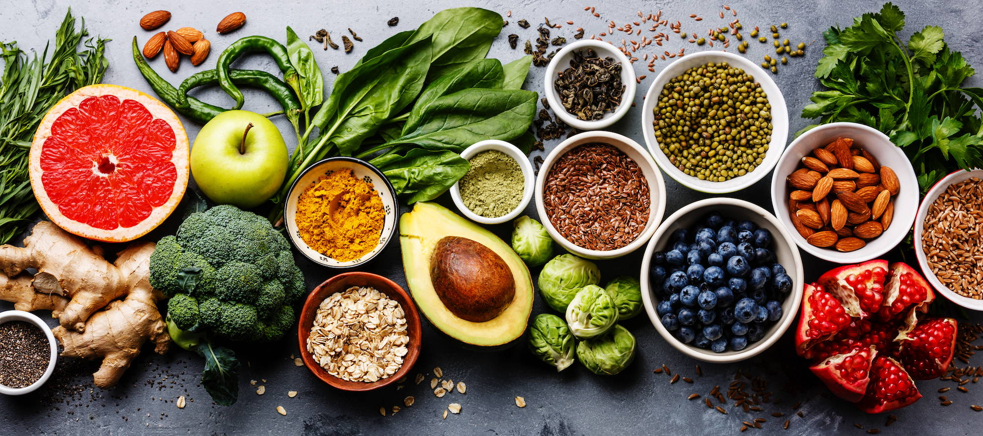 a wholefood diet supports oral health