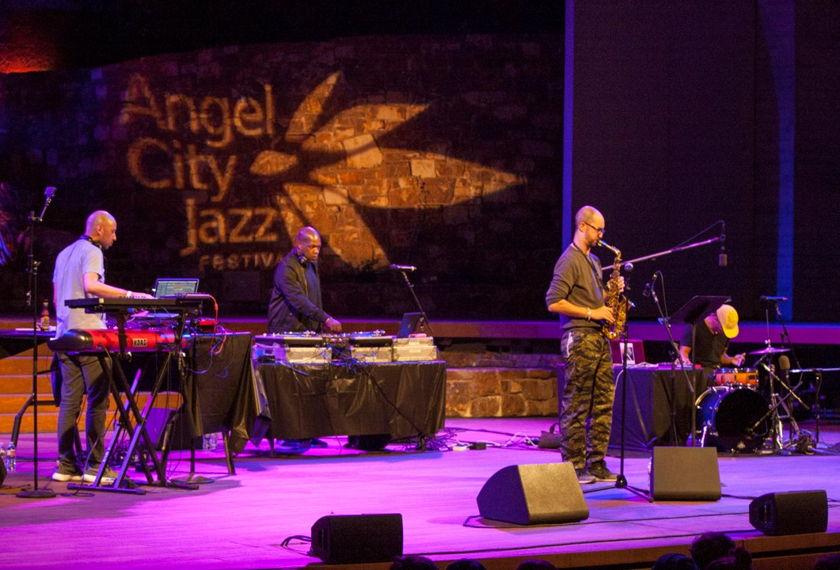 Angel City Jazz Festival artwork