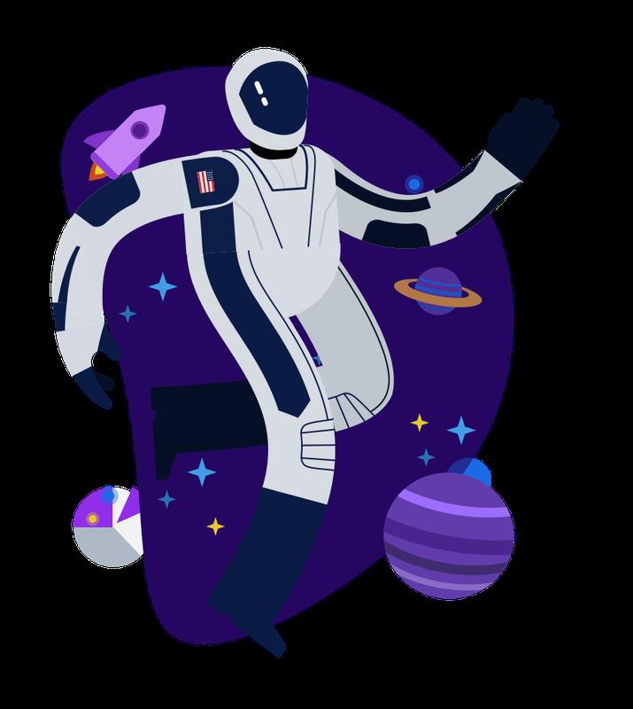 Happy bunch   astronaut(1)