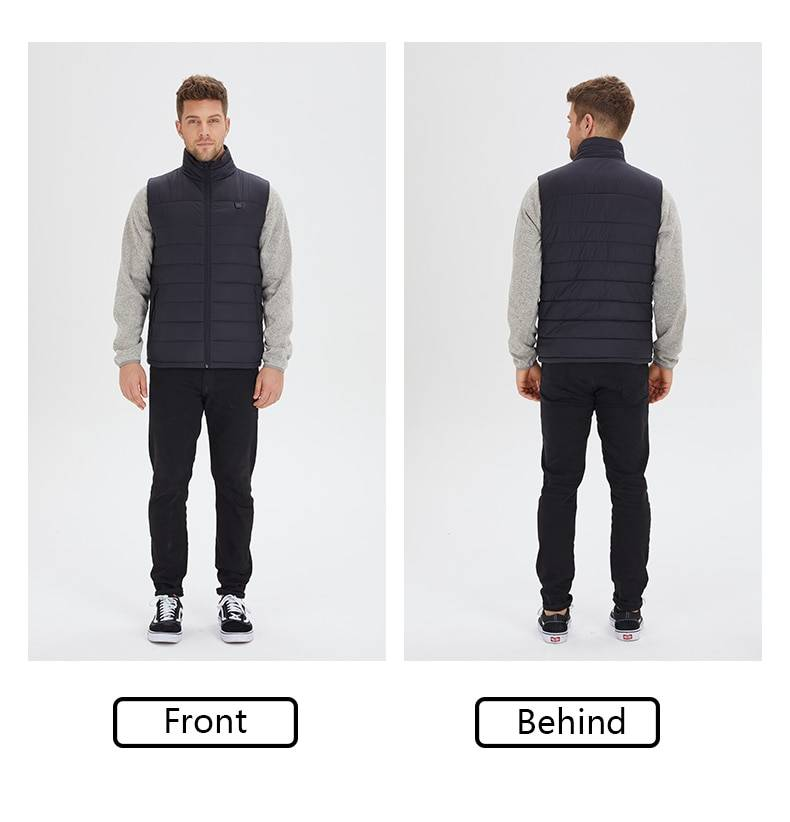 battery heated vest