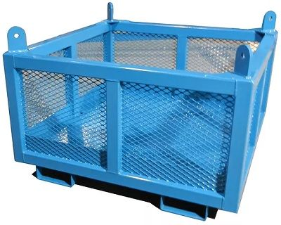 cage de manutention, wire mesh lifting container, muscle mate