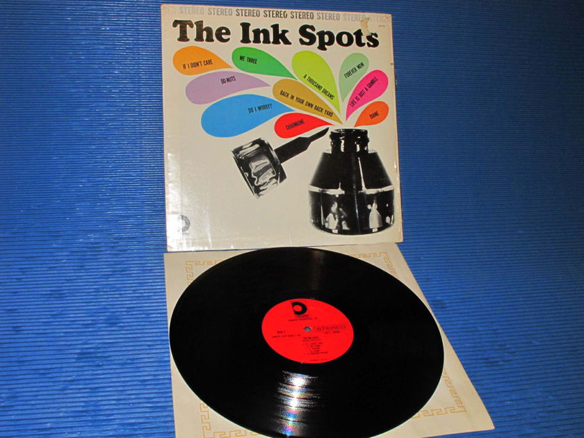 """THE INKSPOTS -  - """"Self Titled"""" -  Design 1962 1st pressing Stereo"""