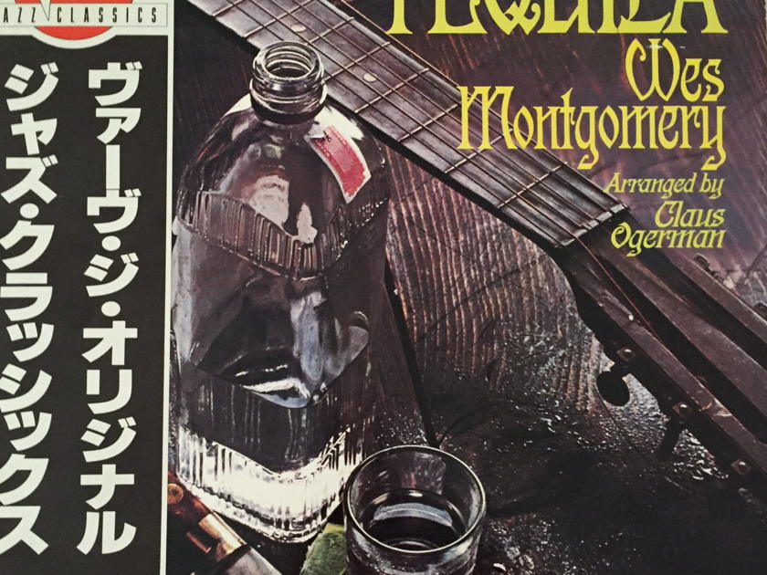 Wes Montgomery - Tequila - (1981, Verve / Polygram Records)  High Quality, High Density, Virgin Vinyl