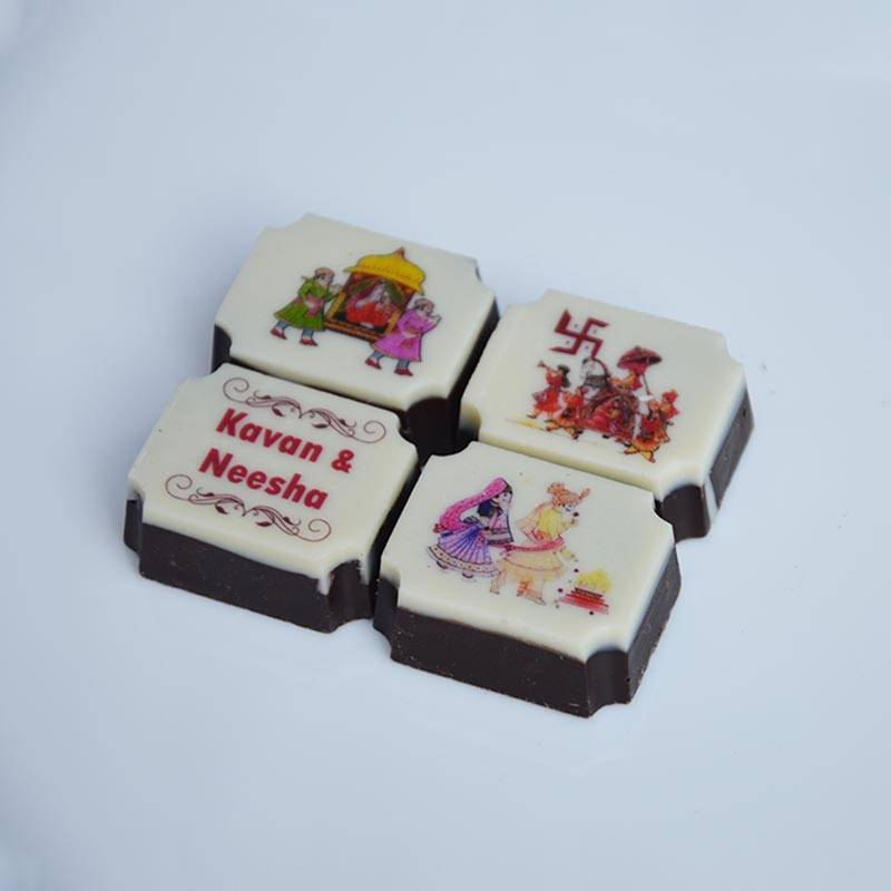 marriage symbol chocolates