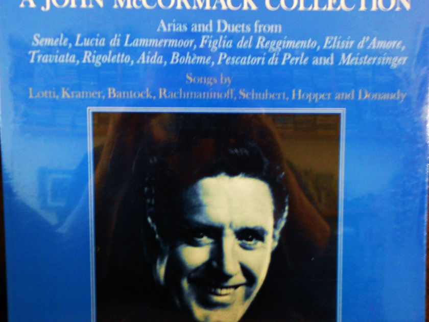 FACTORY SEALED ~ JOHN McCORMICK ~  - A COLLECTION ARIAS AND DUETS~NEVER BEFORE RELEASED ON L.P. ~  RCA VIC 1393 (1969)