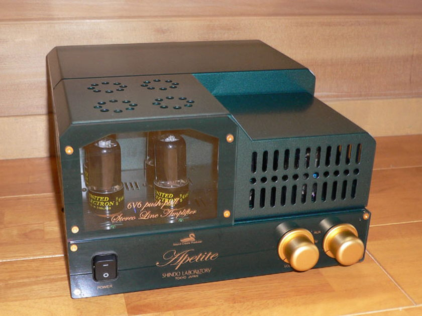 Shindo Apetite Tube Integrated tube amp w cage
