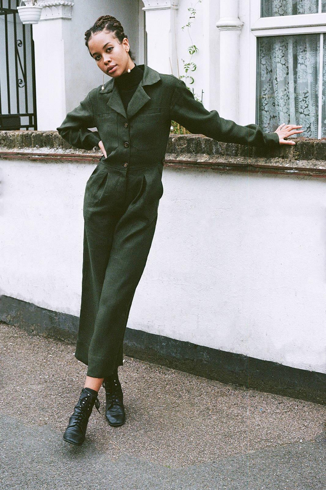 Serra Boiler Suit by arkitaip