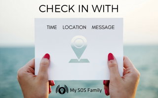 Automatically Check-in and check-out fast, discreetly, includes geo-location and your custom message.