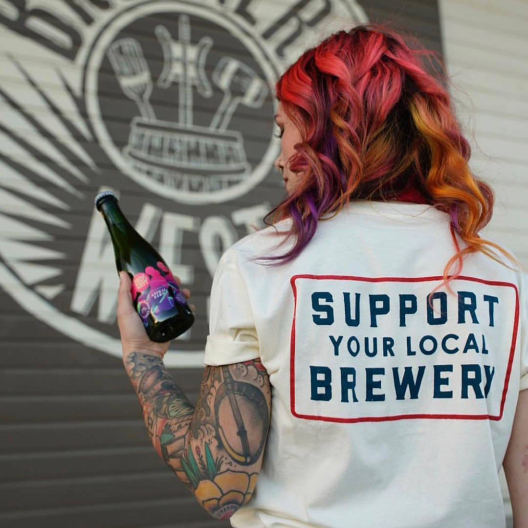 Support Local Brewery Tee