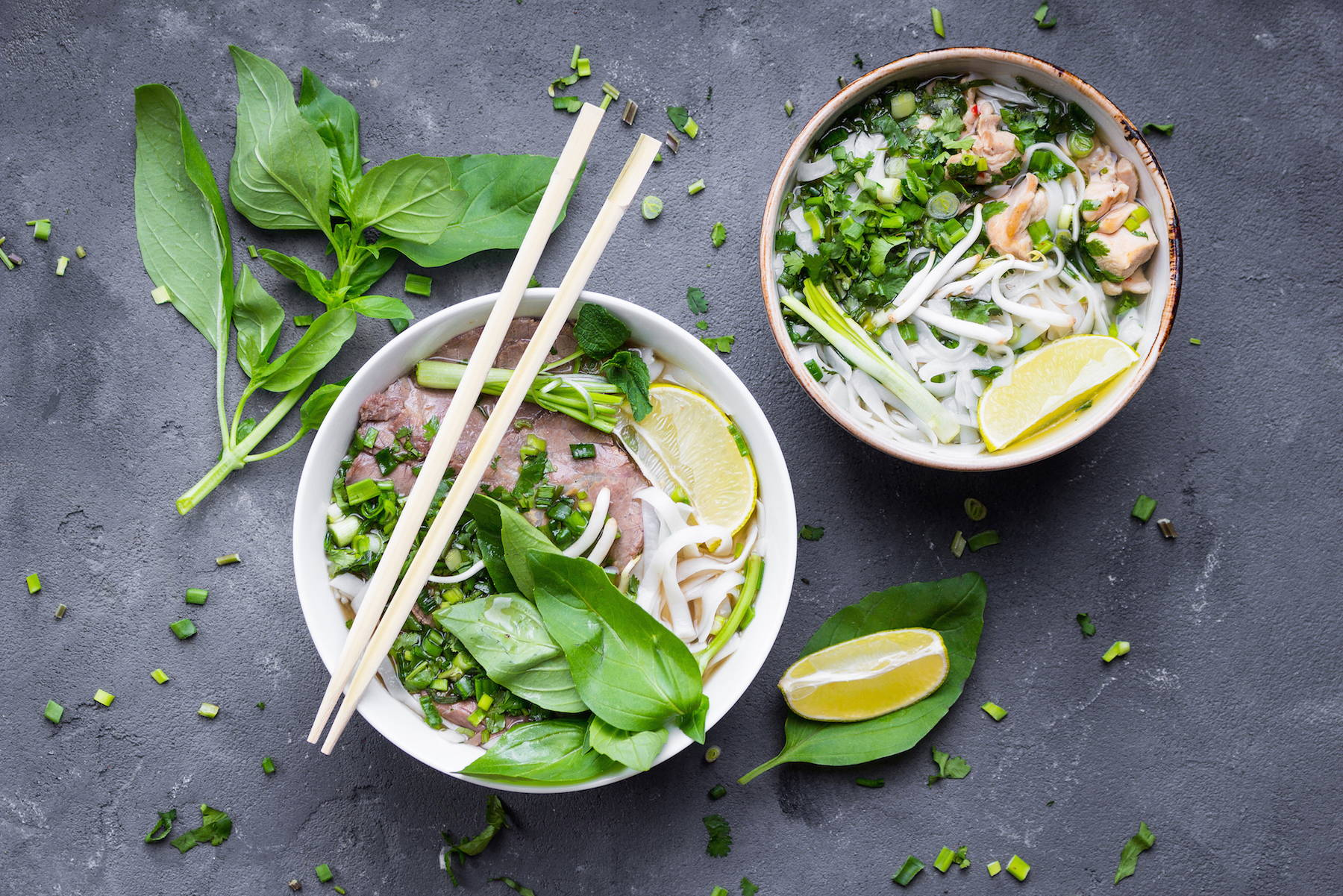 Vietnames Pho is a delicious option for healthy eating out