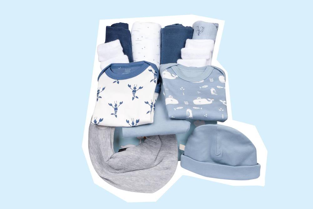 Babybox als Geburtsgeschenk für Jungen von Taidasbox