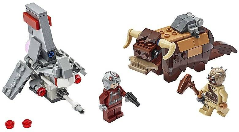 LEGO 75265 T-16 Skyhopper vs. Bantha Microfighters