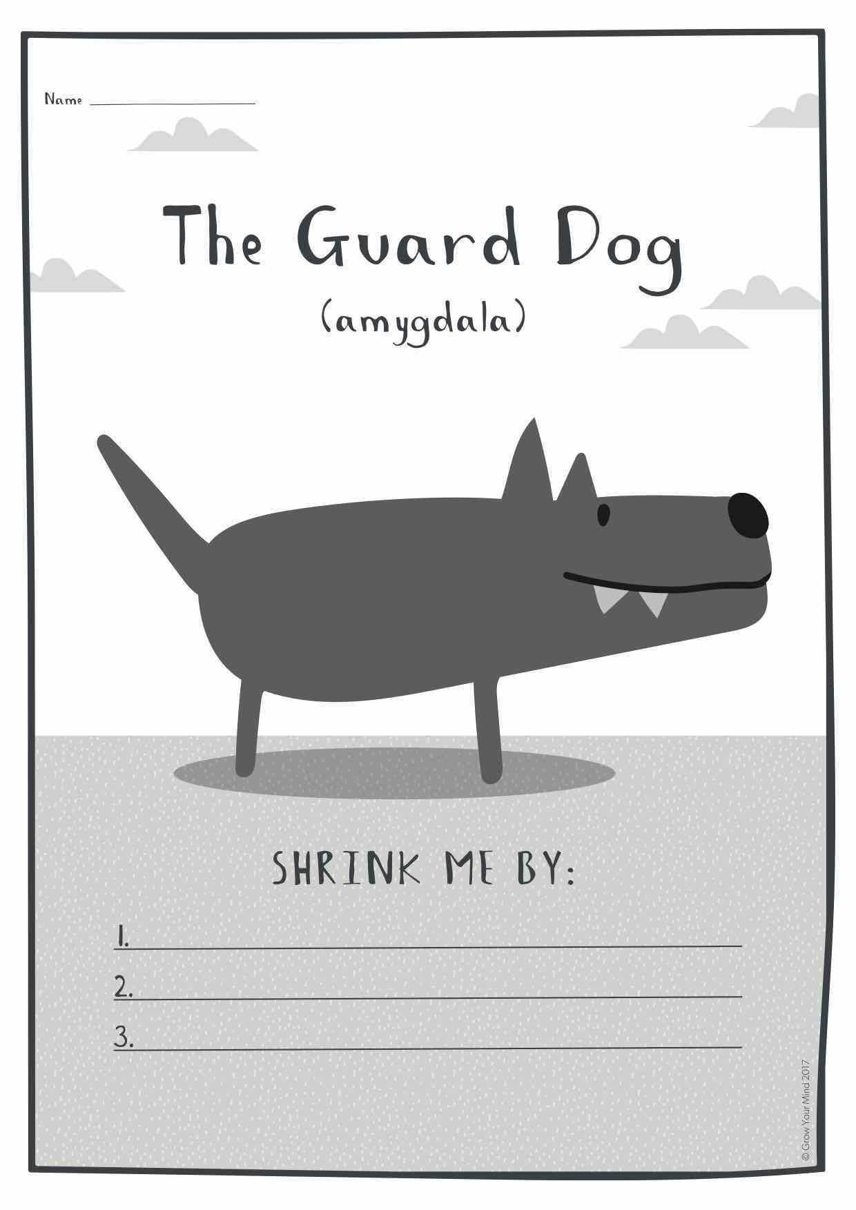 Animal Grow and Shrink Cheat Sheets